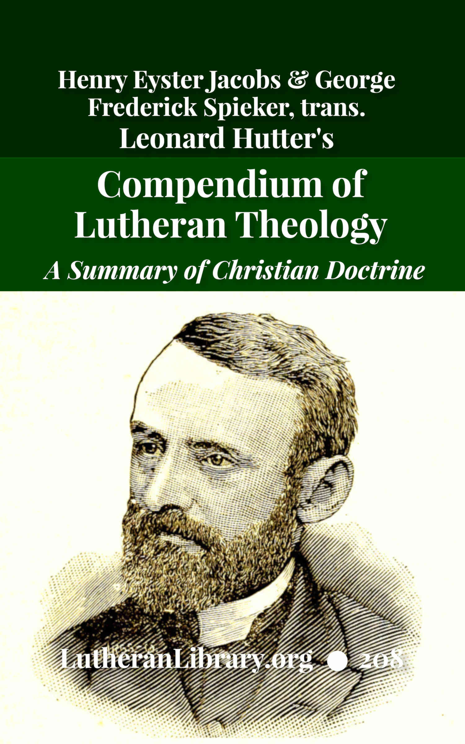 Hutter's Compend of Christian Doctrine by AUTHOR