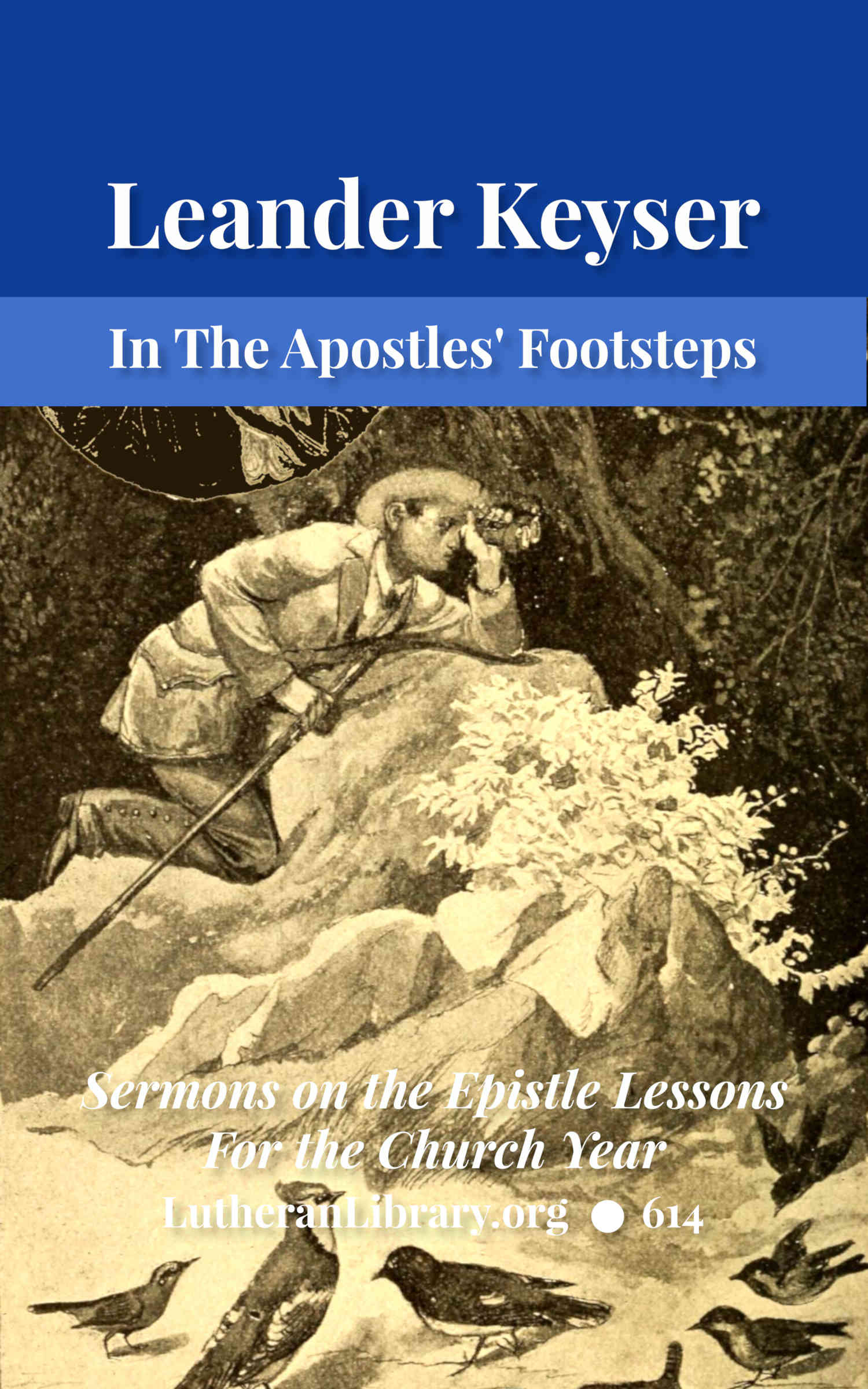 In The Apostles' Footsteps: Sermons on the Epistle Lessons for the Church Year by Leander Sylvester Keyser