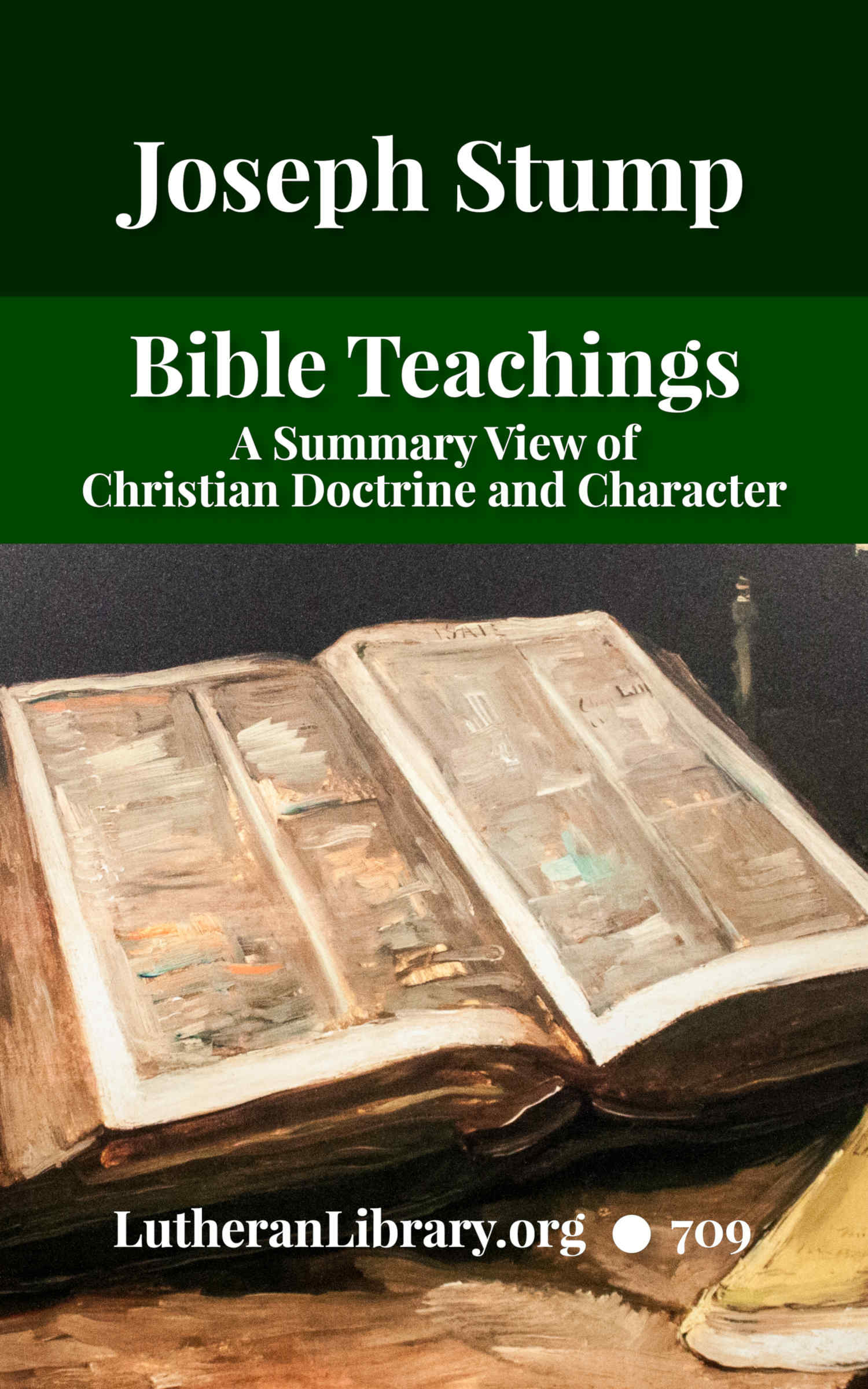 Bible Teachings by Joseph Stump